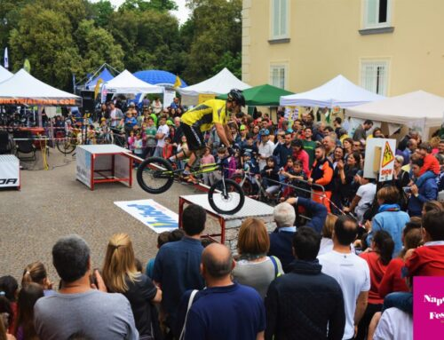 Spettacolo di Bike-Trial