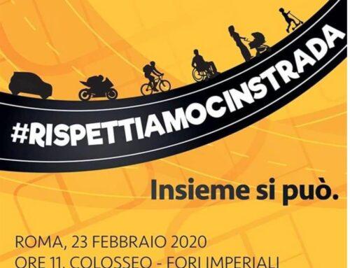 #Rispettiamocinstrada: Napoli Pedala presente a Roma